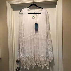 Show me your mumu lace detail dress